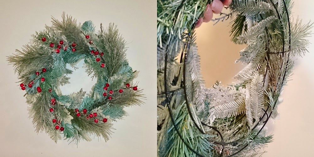 How to make a wreath from scratch