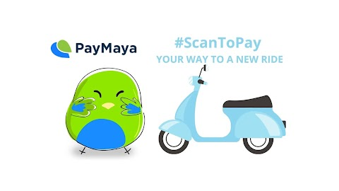 PayMaya rewards delivery riders who will use  #ScanToPay for safer transactions