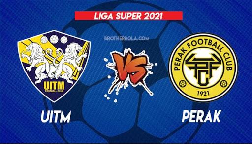 Live Streaming Uitm vs Perak 7.8.2021