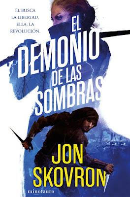LIBRO - El demonio de las sombras Jon Skovron   (Minotauro - 20 Junio 2017)   Literatura - Novela - Fantasia  COMPRAR ESTE LIBRO EN AMAZON ESPAÑA