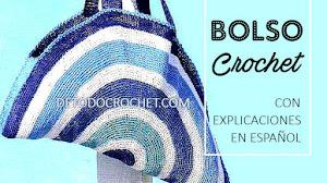 Bolso Práctico para tejer al Crochet / paso a paso