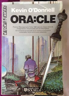 Portada del libro ORA:CLE, de Kevin O'Donnell