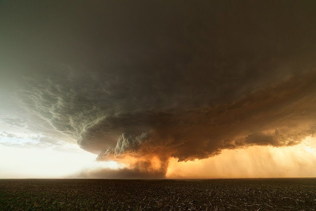 Supercell over Texas