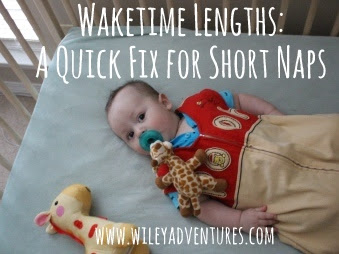 Waketime Lengths: A Quick Fix For Short Naps