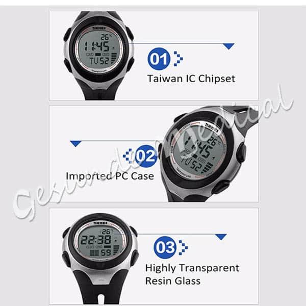 grosir jam tangan pedometer multifungsi