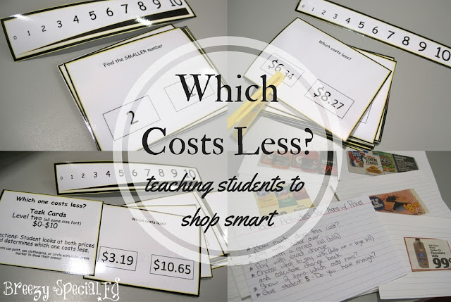 Teaching Students How to Shop Smart: finding what items costs less