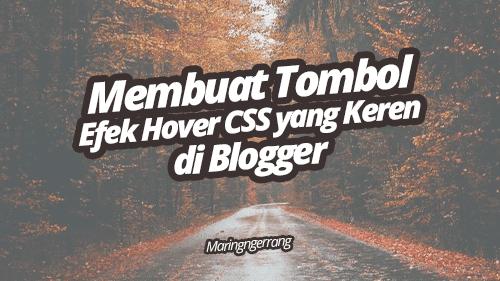 Membuat Tombol Efek Hover CSS Keren di Blogger