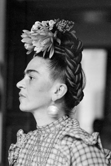 Frida Kahlo foto real