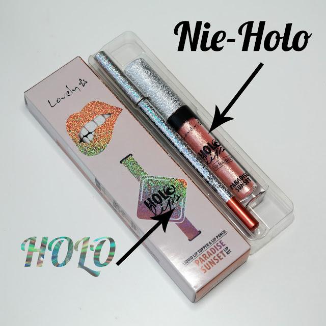 Lovely Holo Lips Lip Kit