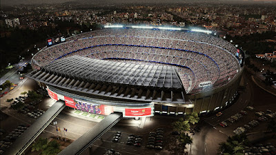 PES 2020 Stadium Camp Nou UCL Edition