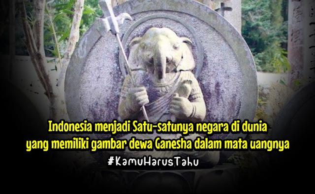India Puji Indonesia: Negara Muslim Terbesar, Tapi di Uang Rupiah Ada Gambar Dewa Hindu