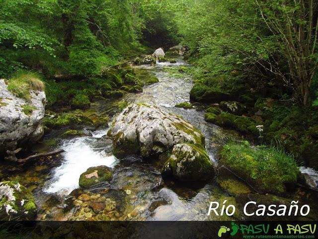 Rio Casaño desde Puente Llamero