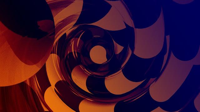 orange_black_swirl_hd_abstract