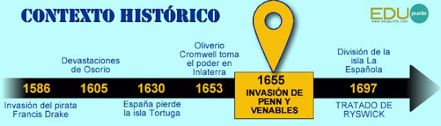 invasion,inglaterra,1655,fracaso,penn,venables,cromwell,santo domingo