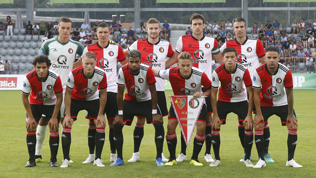 Hollanda Ligi Şampiyonları Feyenoord - Kurgu Gücü