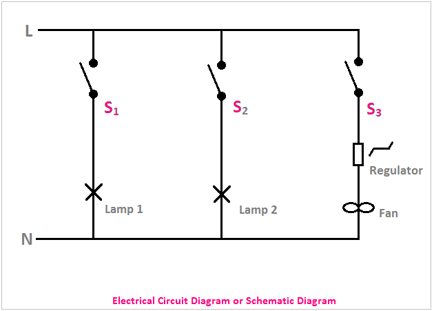 electrical wiring diagram and electrical circuit diagram