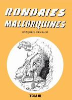 Portada Rondalles Mallorquines, Tom III. Mn. Alcover. Ed Moll.
