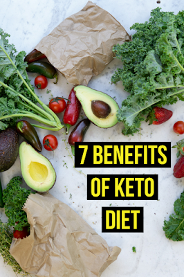 7 Benefits of The Keto diet, Keto diet explained,  label Ashish kumar