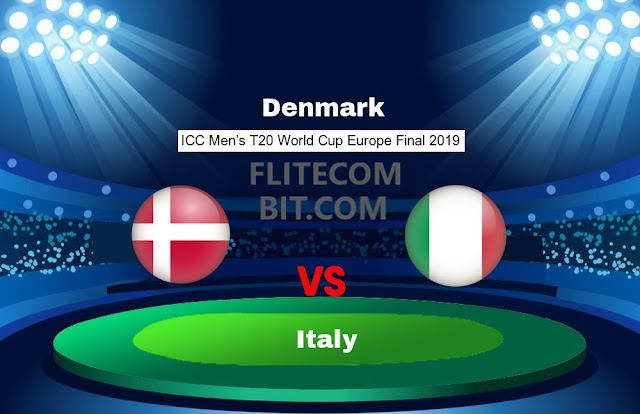 DEN vs ITA Dream11 Match Prediction T20 WC Europe Final Preview, Team News, Playing11