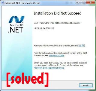 error framework 4