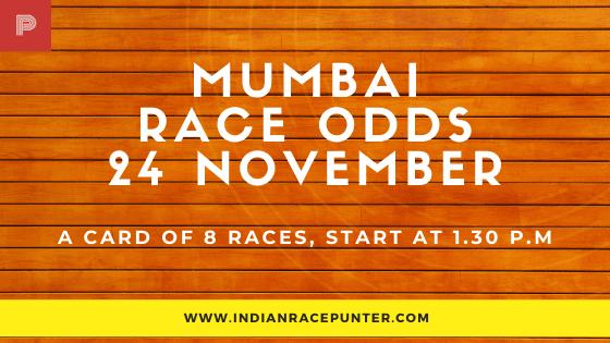 Mumbai Race Odds 24 November