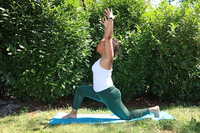 Black Yoga Teacher Runner's Lunge