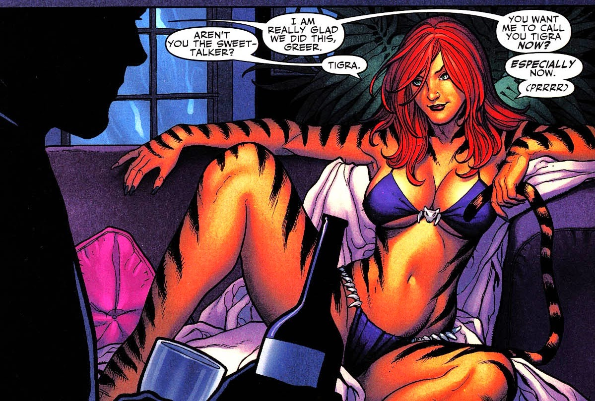 20 eroine e villain dei fumetti USA molto top... gatte
