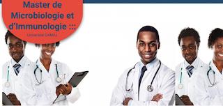 Recrutement_des_candidats au Master de Microbiologie_et_Immunologie_de_l'Université_Gamal_Abdel_Nasser_de_Conakry