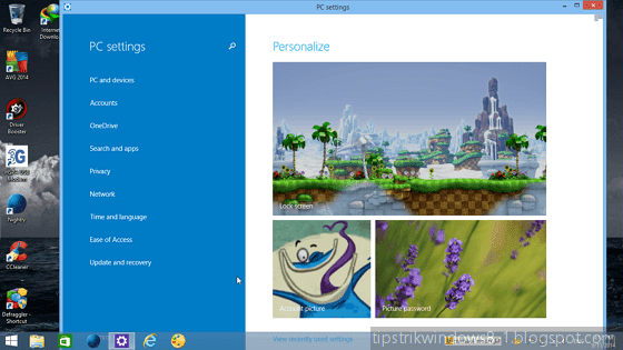 mode windowed di desktop aplikasi metro windows 8.1