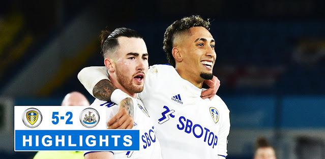 Leeds United vs Newcastle United – Highlights