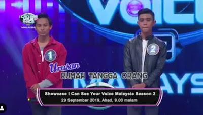 Tetamu Undangan Showcase I Can See Your Voice Malaysia 2019