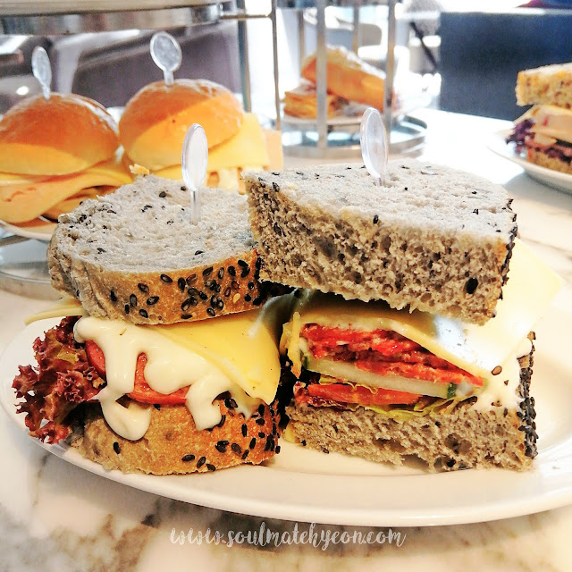 Afternoon Tea Treats; The Lounge, Kota Kinabalu Marriott Hotel