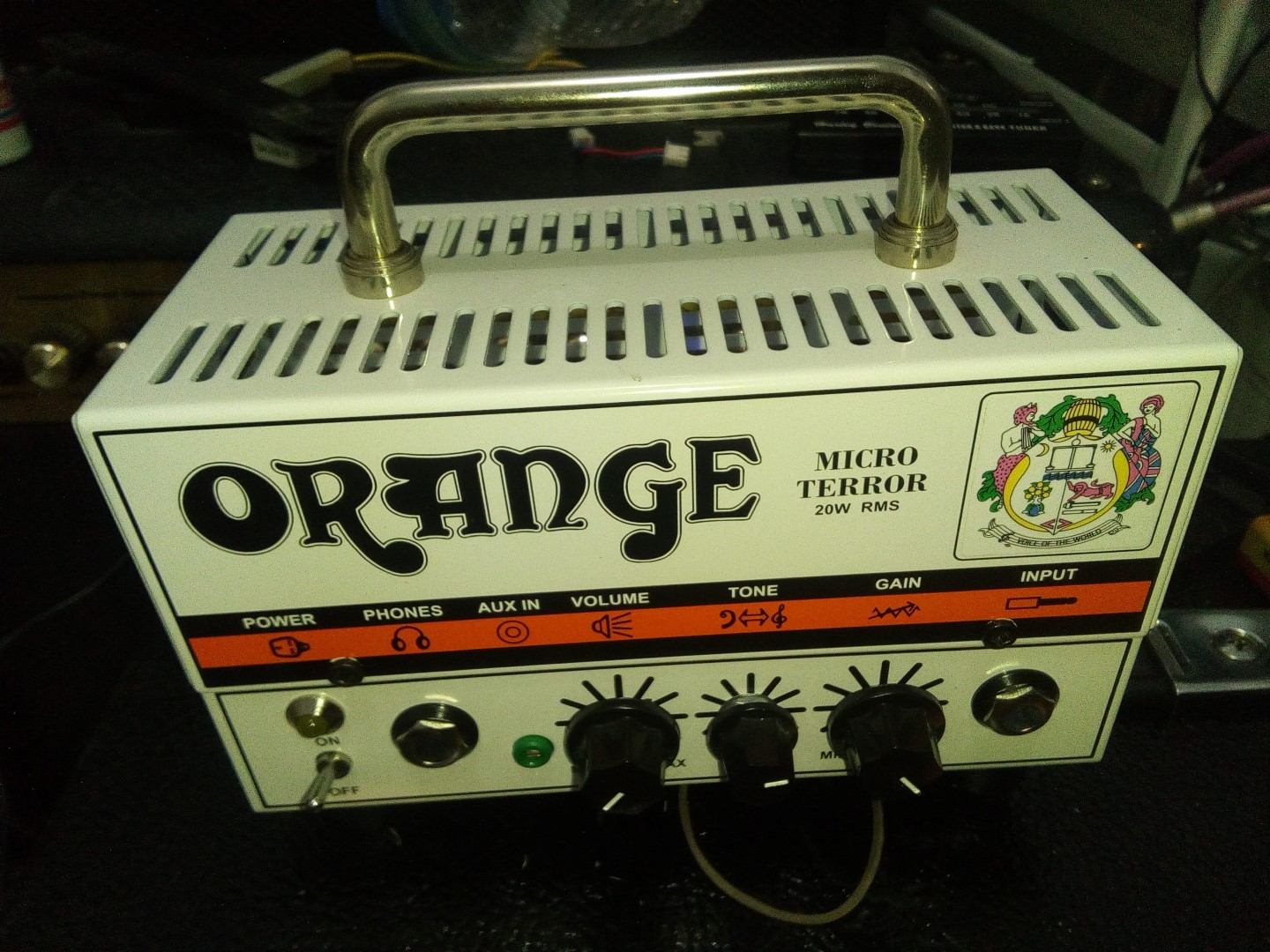 Orange Micro Terror Modification Guitar Dreamer The Modified Treble Booster Circuit Diagram Is Purposed To Be Used As This Amplifier Head Would You Like It Turn Into A Dark Continue Reading