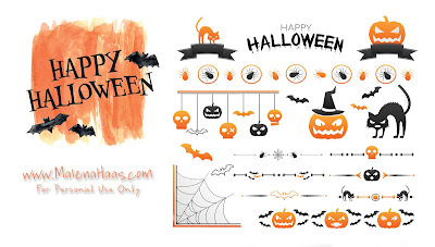 FREE Halloween Stickers for your planner!