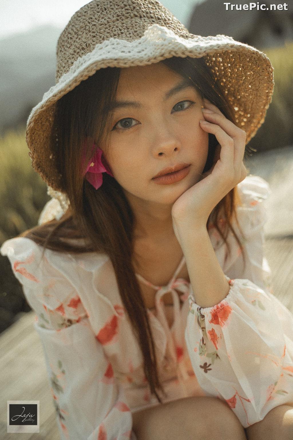 Image Thailand Hot Model - Nut Theerarat - Nutwch Black Pink - TruePic.net - Picture-9