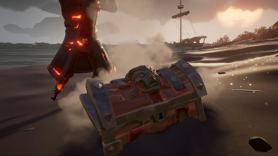 sea of thieves cursed chest of rage bounty voyage devil's roar crews of rage free monthly content update dlc pc xb1 dlc rare studio