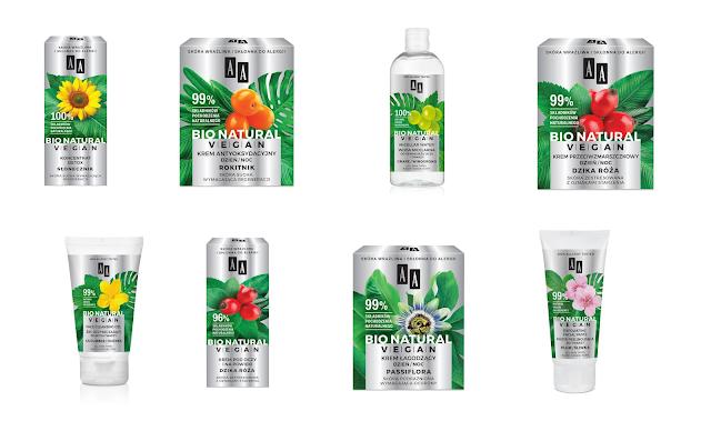 [552.] Nowa seria kosmetyków AA - Bio Natural Vegan