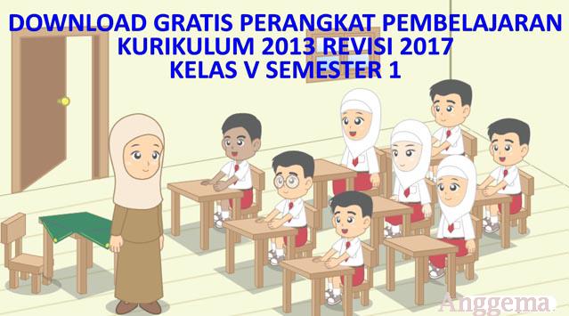 File Pendidikan RPP Kelas 5 Semester I Kurikulum 2013 Revisi 2017 Terintegrasi Literasi, PPK,4C dan HOTS