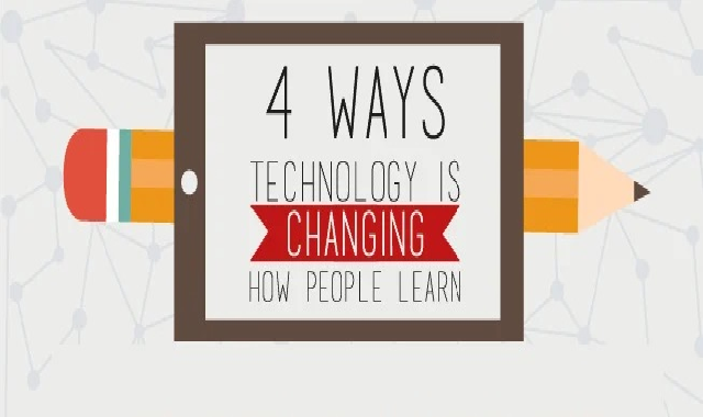 Four Ways Technology Is Changing How People Learn #infographic