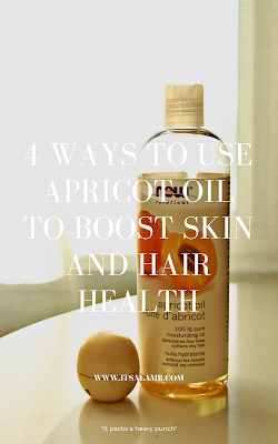 4 Ways to Use Apricot Oil to Boost Skin and Hair Health | Read it on www.itsalamb.com #skincare #naturalskincare #naturalremedy #apricotoil