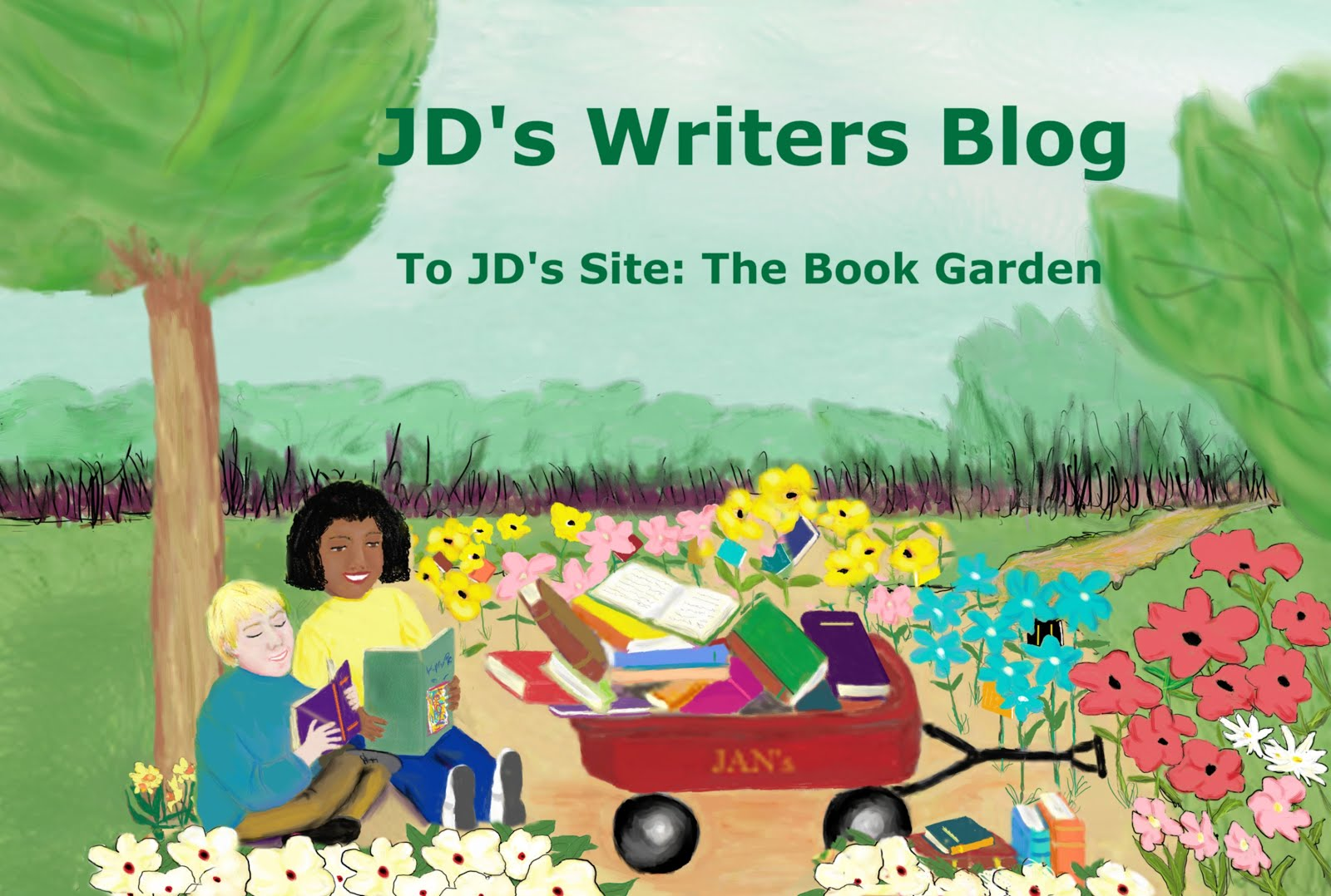 To JD's site: The Book Garden