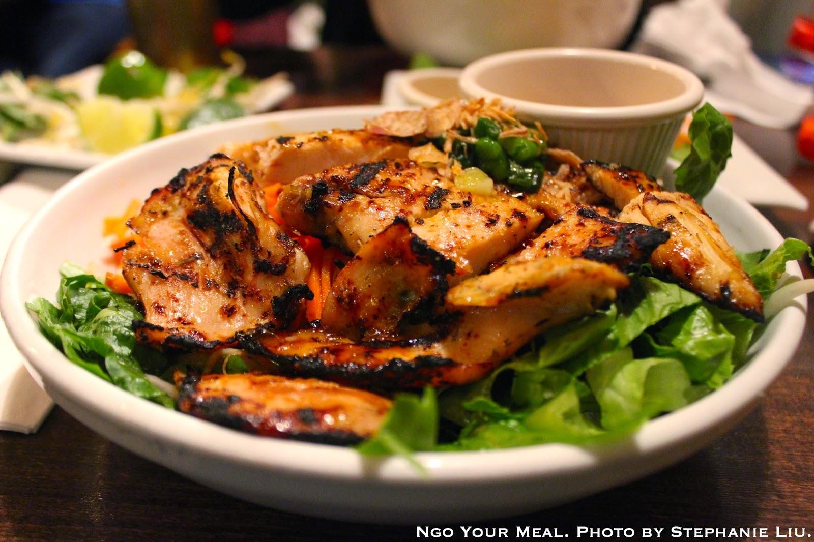 Lemongrass Chicken at Saigon Shack