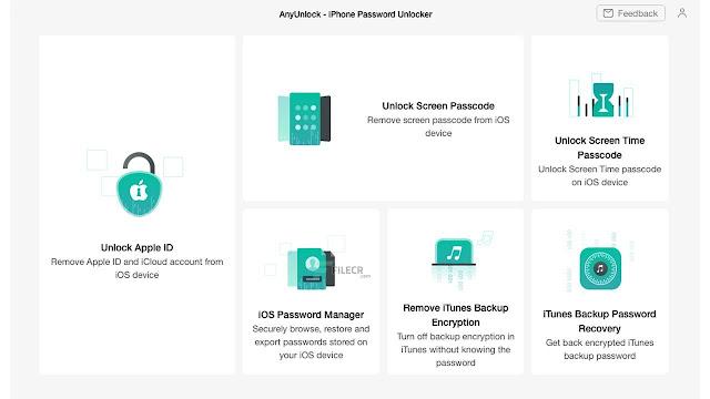 AnyUnlock - iPhone Password Unlocker 1
