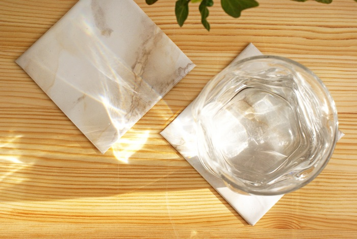 coasters marble sottobicchieri marmo diyhome