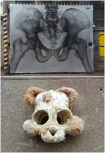 Whoopidooings: Street Art London July 2017 - Shok-1 and ?