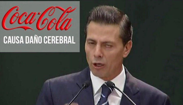 Confirmado: La Coca Cola causa daño cerebral...pero Peña Nieto promueve su consumo
