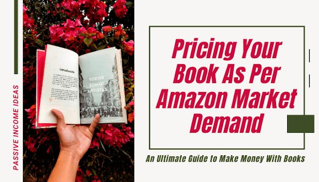 Kindle Amazon book Pricing Selection