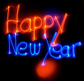 Gambar Animasi DP BBM Selamat Tahun Baru 2017, Happy New Year Bergerak Terbaru