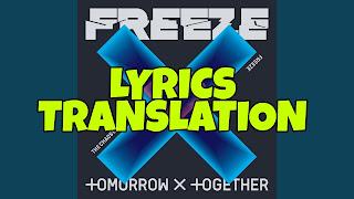 Magic Lyrics In English - TXT ( Tomorrow x Together )