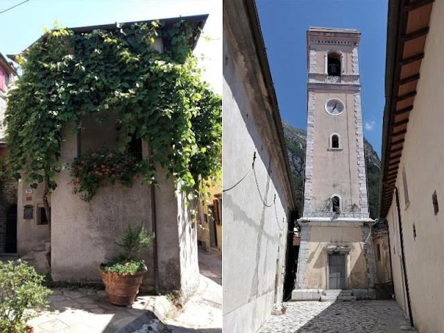 casa nel borgo di levigliani e campanile